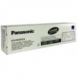 Panasonic KX-FAT411X Black Laser Toner