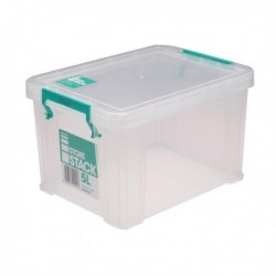 StoreStack 5Ltr Box Clr W260xD190xH150mm