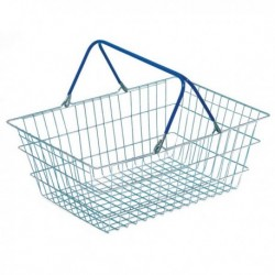Wire Shopping Baskets Pk5