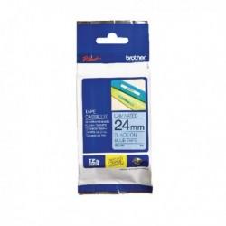 Brother Black on Blue Tape 24mm TZE551