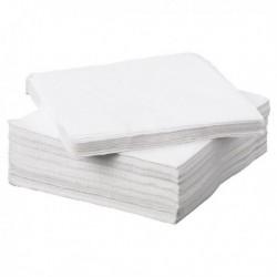 Napkin 2Ply 330x330mm White P100 0502135