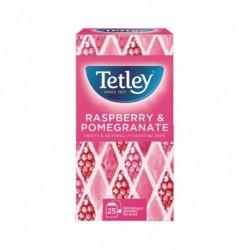 Tetley Raspberry/Pomegranate Tea Bags