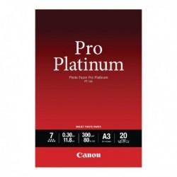Canon A3 Pro Platinum Photo Paper Pk20