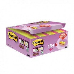 Post-it S/Sticky 47.6mm Notes Pk18 + 6
