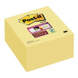 Post-it S/Sticky ExLarge 101mm Notes Pk6