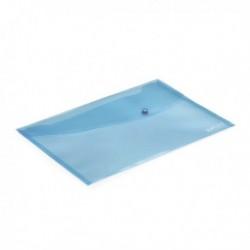 Rapesco Popper Wallet Fs Pastel Blu Pk5
