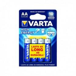 Varta AA H/Energy Battery Alkaline Pk4