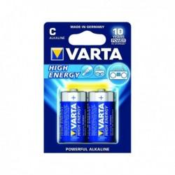 Varta C High Energy Battery Alkaline Pk2