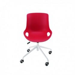 FF Jemini Red Soho Swivel Chair