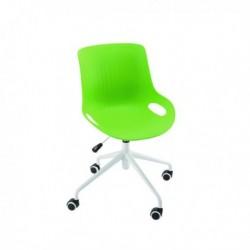 FF Jemini Green Soho Swivel Chair