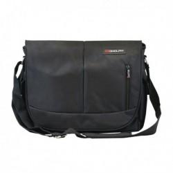 Monolith Courier Messenger Bag Black