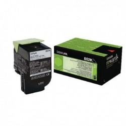 Lexmark 802K Black Toner Cart 80C20K0