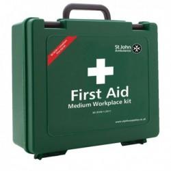 St John Workplace 25-50Prs First Aid Kit