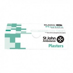 St John Washproof Plaster Assorted Pk100