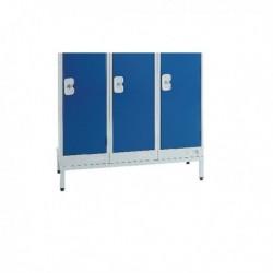 FF DD Locker Stand W300Xd450Xh150mm Lgry