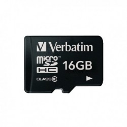 Verbatim MicroSDHC 16Gb Memory Card