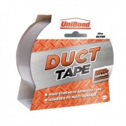 Unibond Silver 50mmx50m Duct Tape