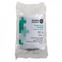 St JohnConforming Bandage 75mmx4.5m