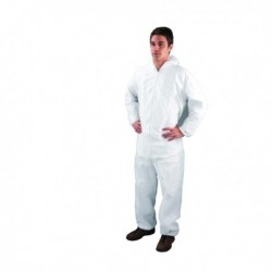 XLarge White Non-Woven Coverall DC03