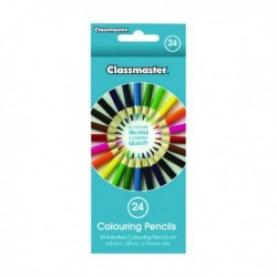 Classmaster Colouring Pencil Asstd CPW24