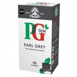 PG Tips Earl Grey Envelope Tea Bags Pk25