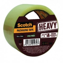 Scotch Clear 50mm Packaging Tape