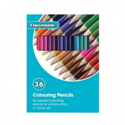 Classmaster Colouring Pencil Asstd CPW36