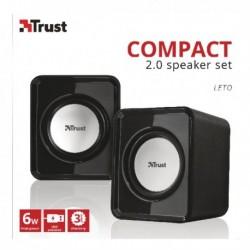 Trust compact 6 Watt 2.0 speaker set