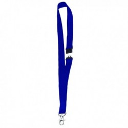 Announce Textile Necklace Blue Pk10