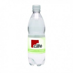MyCafe Sparkling Water 500ml Bottle Pk24