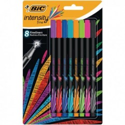 Bic Intensity Fineliner Pen Asstd 942075