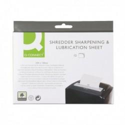 Q-Connect Shredder Sharp/Lubrication Sht