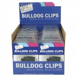 Tallon Bulldog Clips In Display Unit
