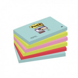 Post-it Super Sticky Note Miami 76x127mm