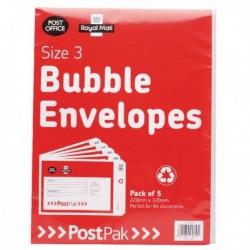 Postpak Size 3 Bubble Envelope Pk40