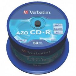 Verbatim CD-R 700MB/80min Spindle 43343