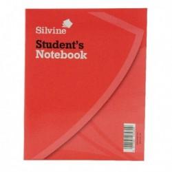Silvine 200x160mm Ruled Exercise Bk Pk24