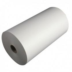 White 214x120mm 1-Ply Telex Roll TR91