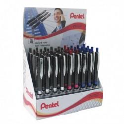 Pentel OH Gel Pen Asstd Pk36 Display Box