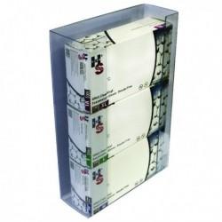 Shield Triple Glove Dispenser Clear Pk2