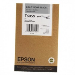 Epson T6059 Light Light Black Cartridge
