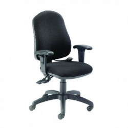 FF INTRO POSTURE CHR WITH ARMS CHARCOAL