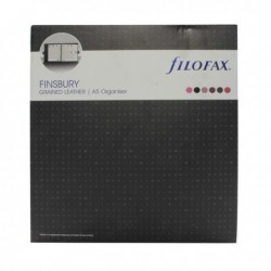 Filofax Finsbury A5 Organiser Blk 025368