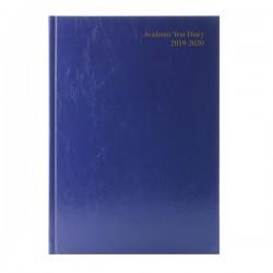 Academic A5 Blue Diary WTV 2019-20