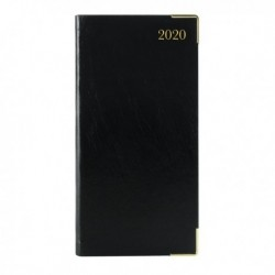 Executive Diary Slim WTV 2020 Black