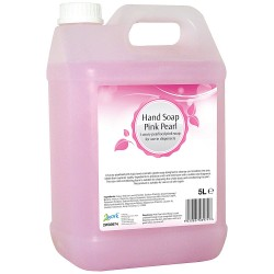 2Work Pink Pearlised Hand Soap 5 Litre Bulk Bottle