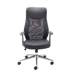 First Mesh High Back Operators Chair