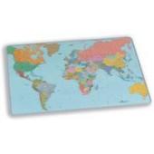 Durable Desk Mat World Map 40X53Xm 7211