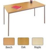FF Jemini Rectang Table 1600X800mm Oak